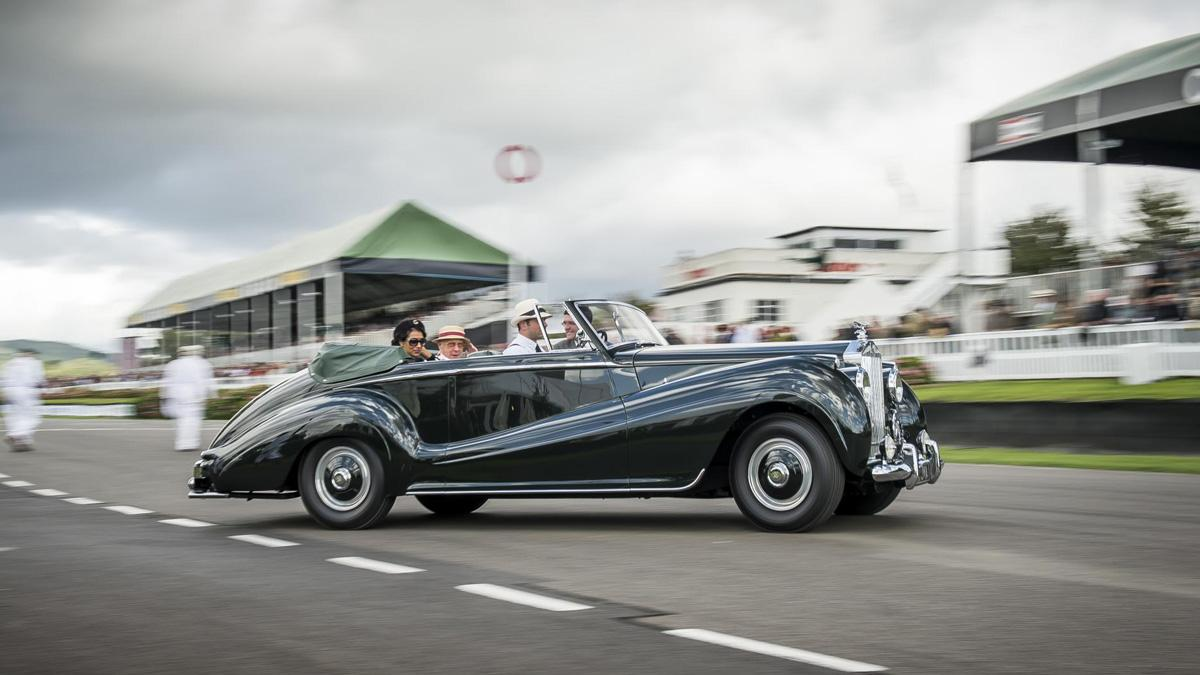 Rolls-Royce Goodwood revival 2015