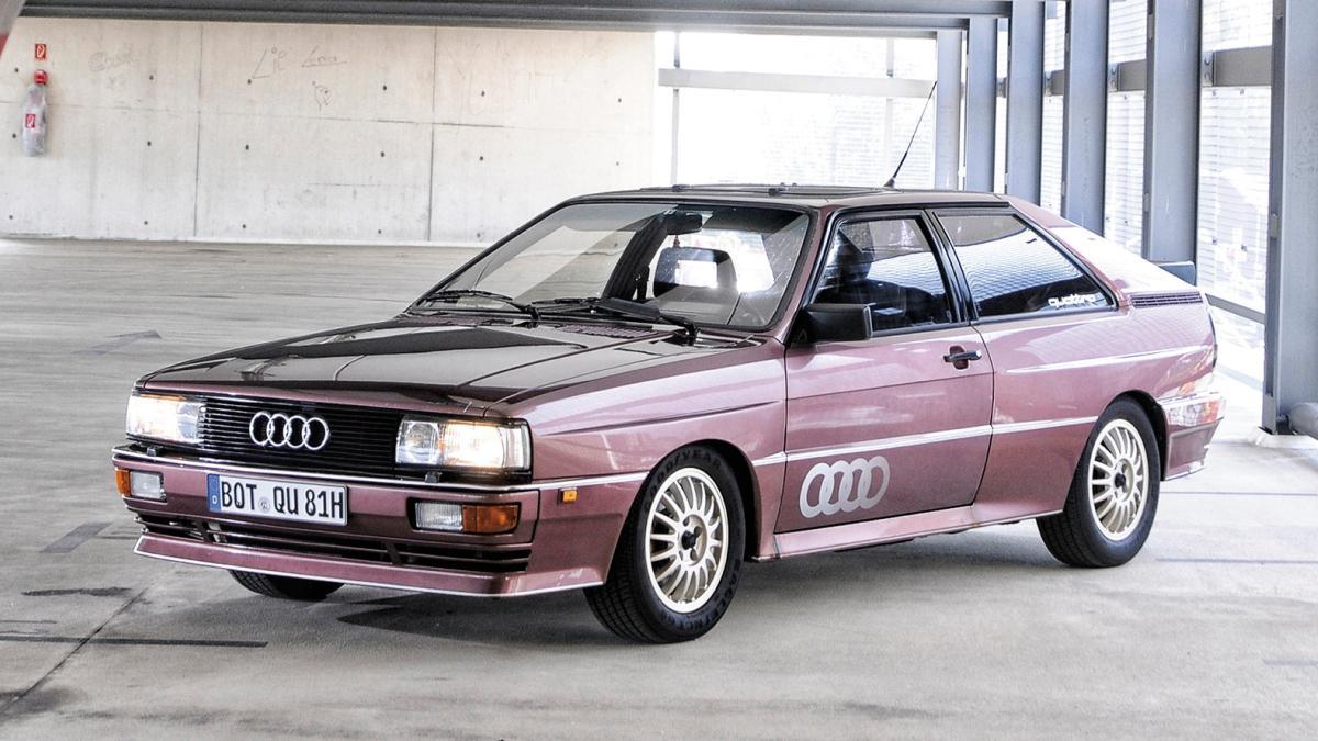 Audi Coupé quattro