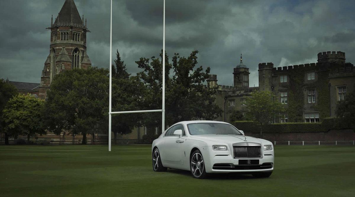 Rolls-Royce Wraith-Historia del Rugby