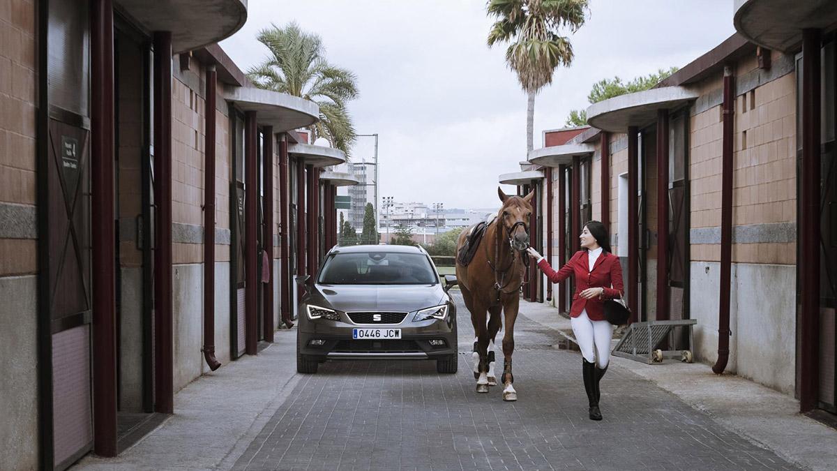 Caballo VS Seat León