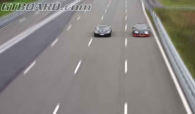 Un Bugatti Veyron vs. Koenigsegg Agera R