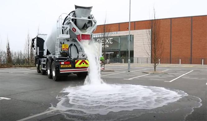 Topmix: el asfalto que no hace charcos