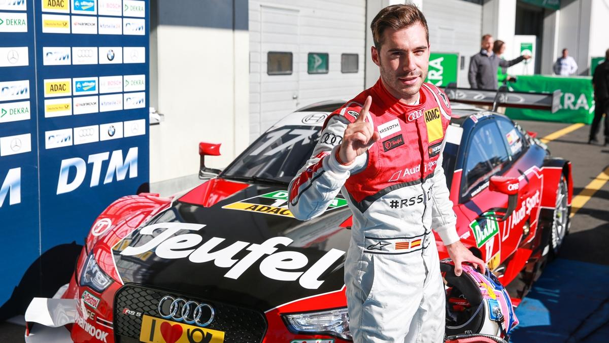 DTM 2015, Nürburgring: Molina logra su primera victoria