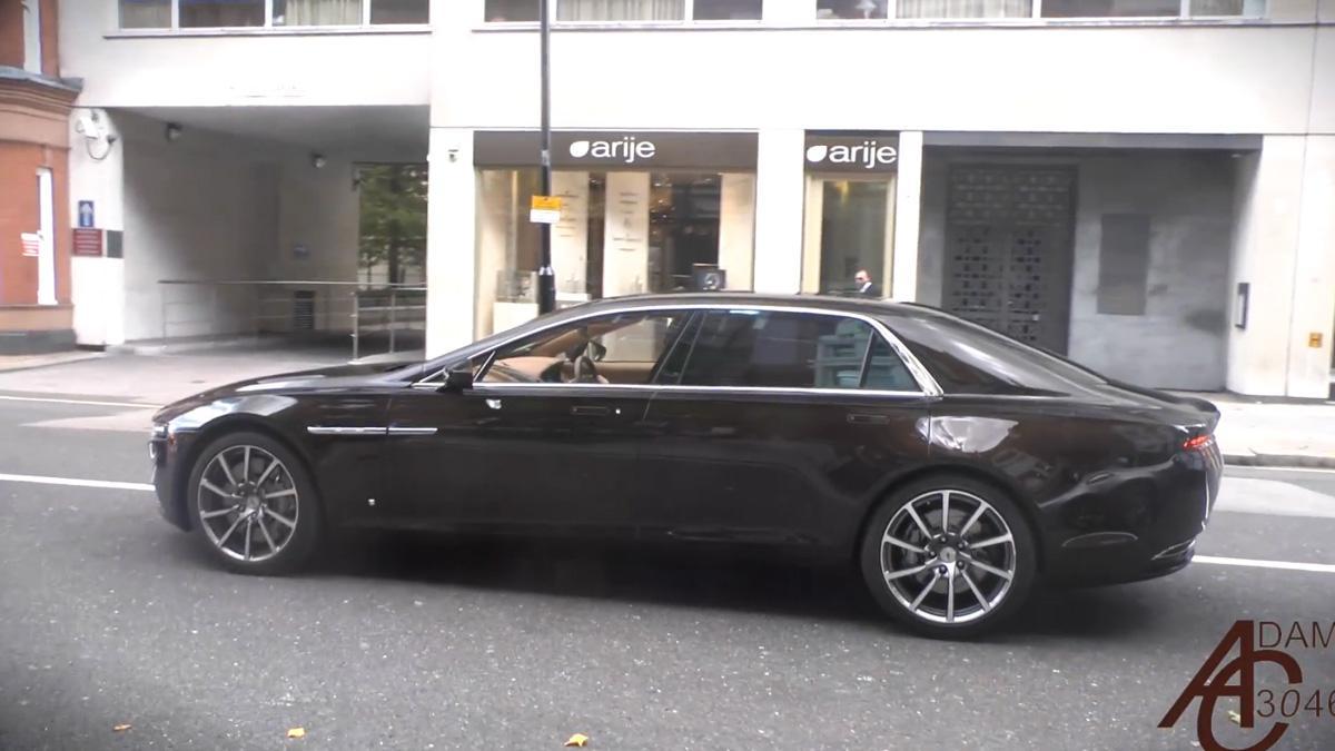 Así luce palmito el Lagonda del millón de euros en Londres