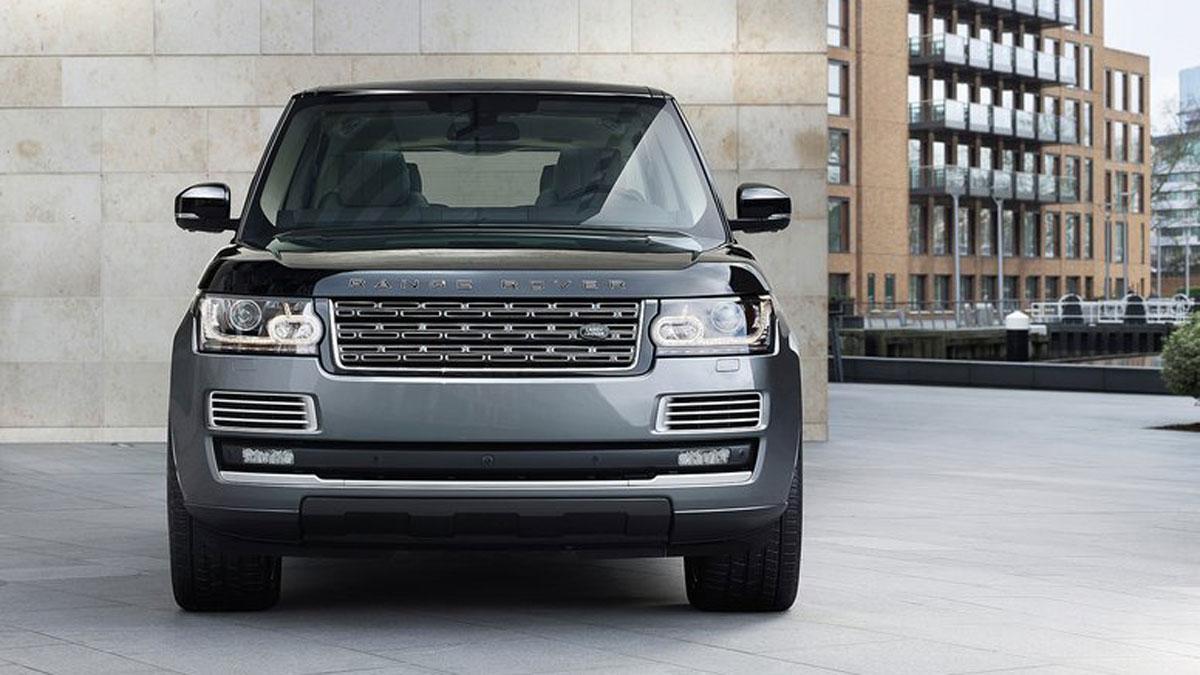 Land Rover trabaja en un Range Rover de ultralujo