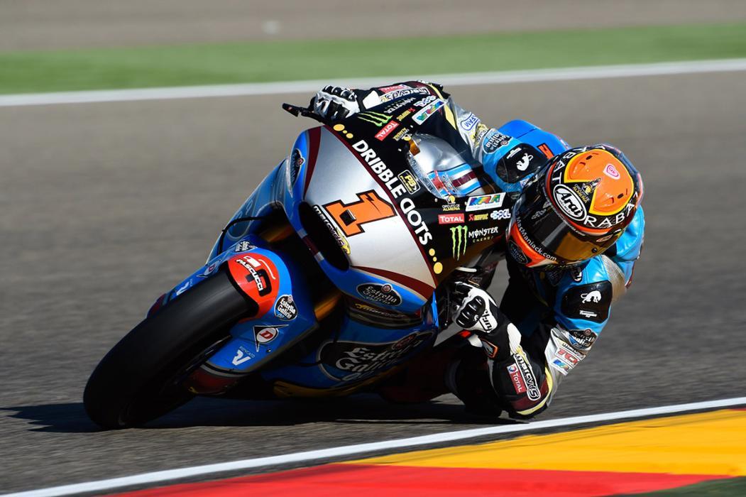Estadísticas de las 100 carreras de Dunlop en Moto2