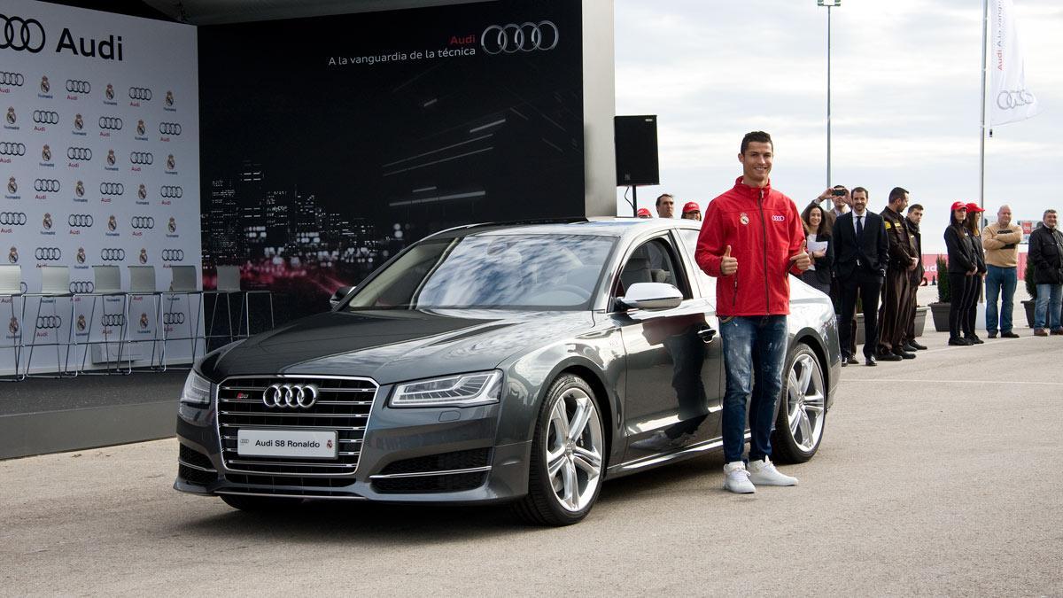Cristiano Ronaldo Audi S8