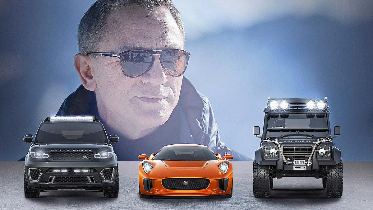 Los coches de la nueva película de James Bond, en Frankfurt