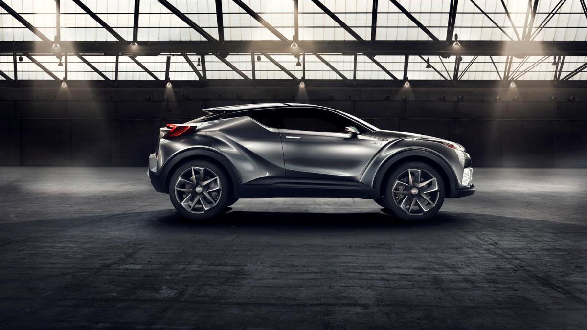 Toyota C-HR hybrid concept, un futuro  SUV pequeño