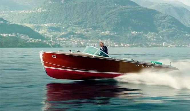 James Bond Riva Tritone Spectre