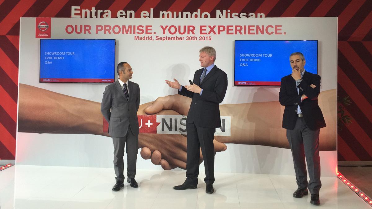 presentación nuevo retail concept nissan