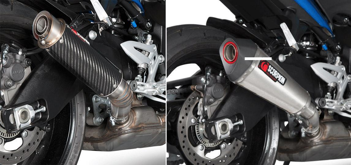 Escapes Scorpion para la Suzuki GSX-S 1000