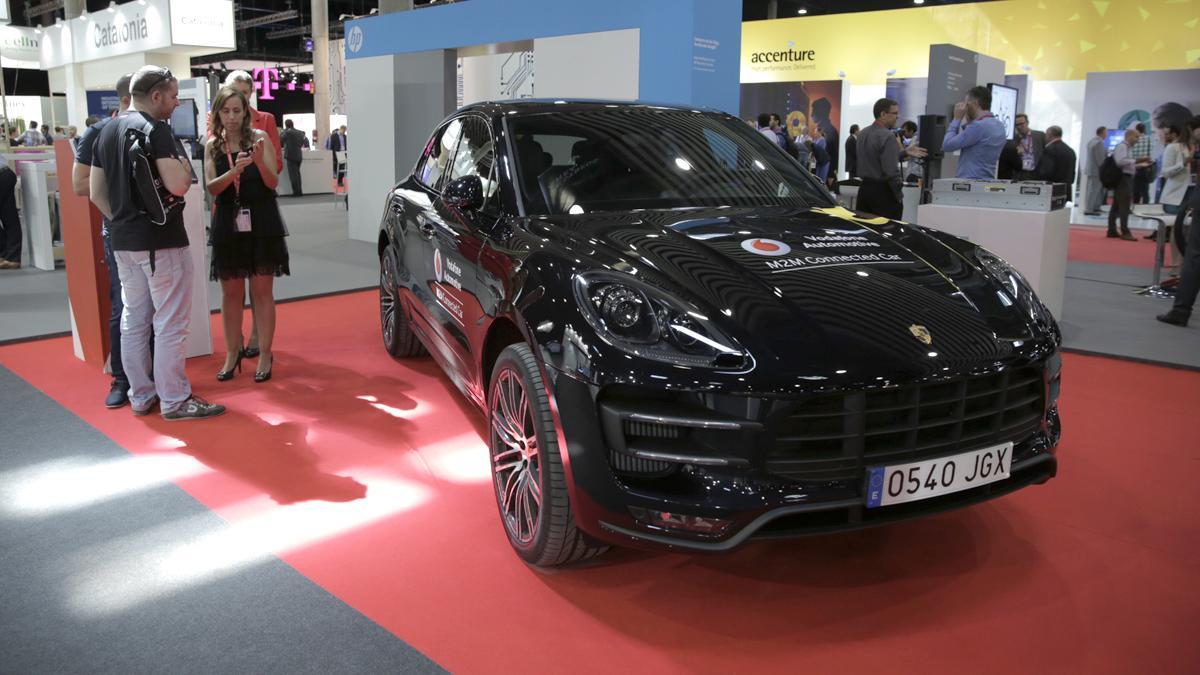 Porsche Car Connect Macan