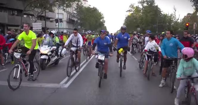 Fiesta de la Bici, este domingo en Madrid