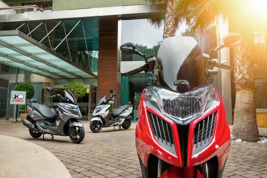 Kymco y Yamaha lideran las ventas  y superan a Honda