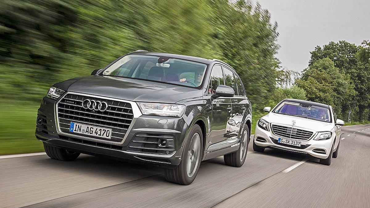 Un cara a cara de lujo: Audi Q7 vs Mercedes Clase S