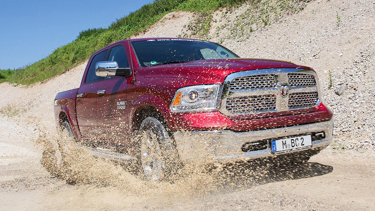 Prueba: Dodge Ram 1500 Eco Diesel. Un pick up a la europea