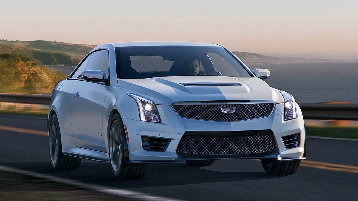 Prueba: Cadillac ATS V Coup 2015