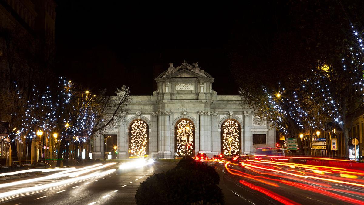 Los 20 'puntos calientes' del tráfico en Madrid
