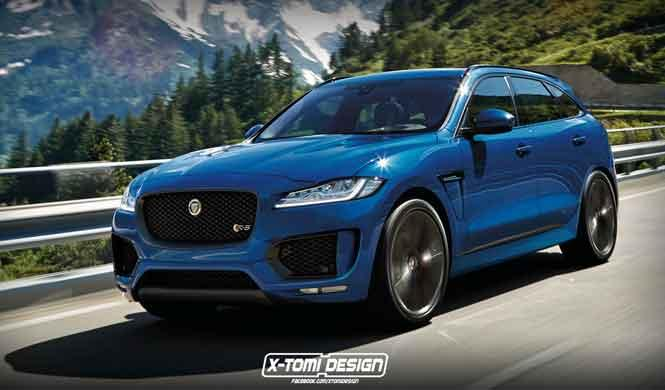 ¿Un Jaguar F-Pace RS?