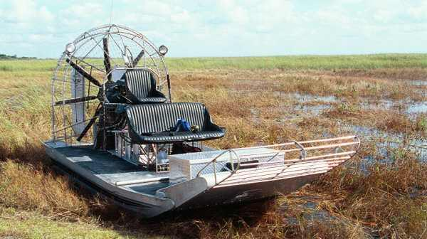 El fin de los legendarios aerodeslizadores de Florida