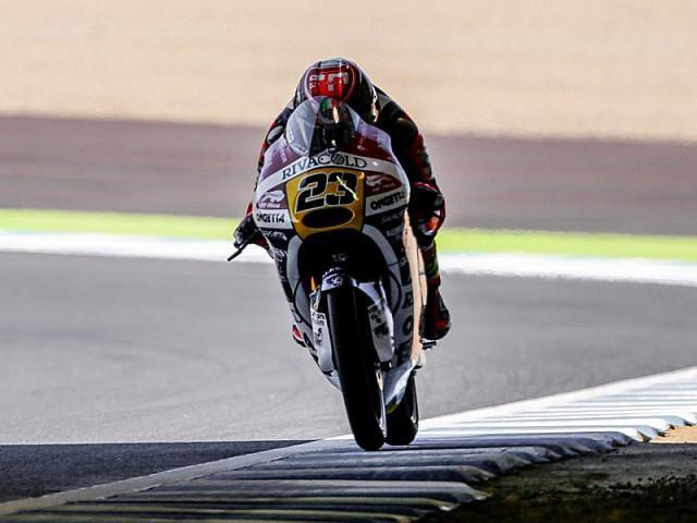Carrera Moto3 Motegi 2015: Antonelli doma el aguacero