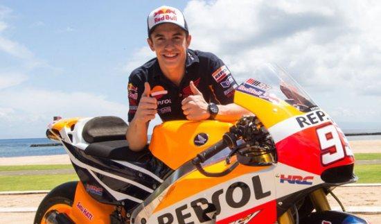 Marc Márquez enseñará a pilotar a 20 jóvenes en Rufea