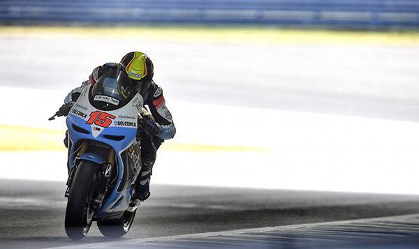 Alex de Angelis y sus lesiones tras la caída en Motegi 2015