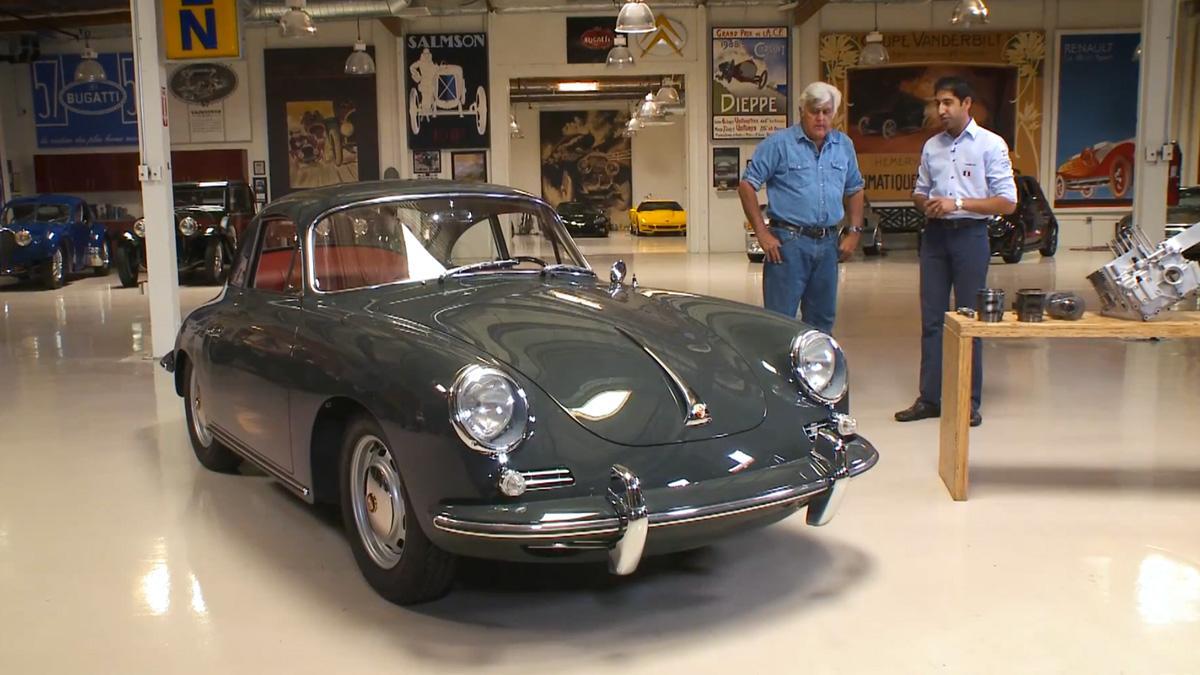 Jay Leno descubre lo que esconde este Porsche 356C