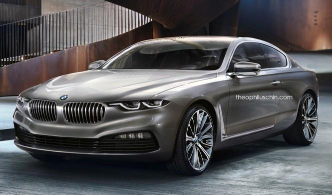 BMW Serie 8 basado Gran Lusso Concept