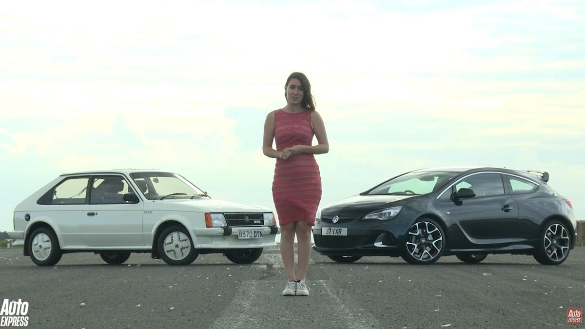 Drag race para fans de Opel: Astra GTE 'vs' Astra OPC