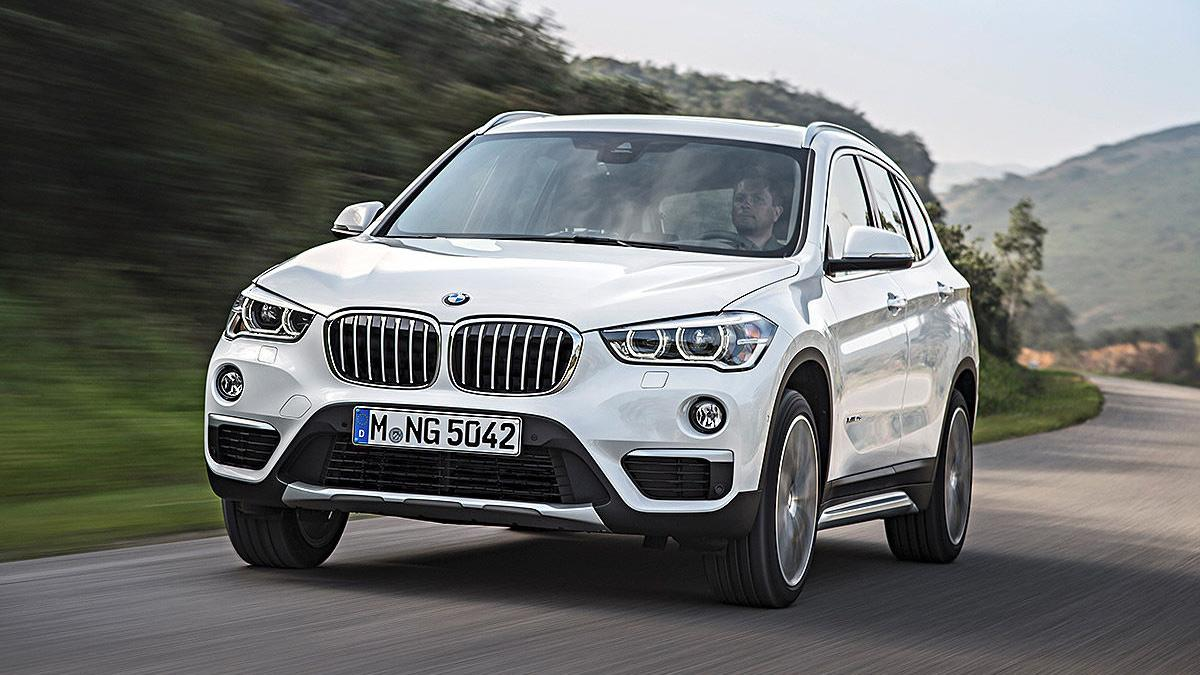 BMW X1 Gran XXL, ¡pillado!