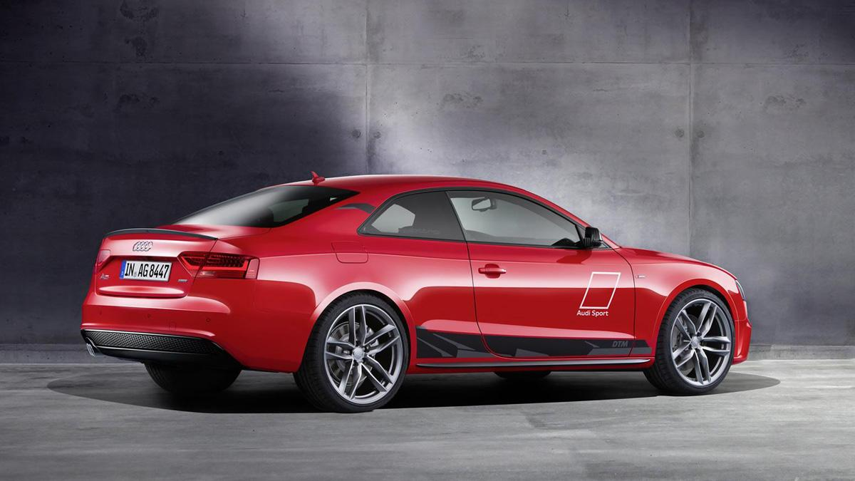 Audi A5 DTM trasera