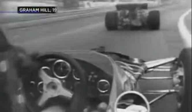 Vídeo onboard de Graham Hill en el F1 de Mónaco de 1970