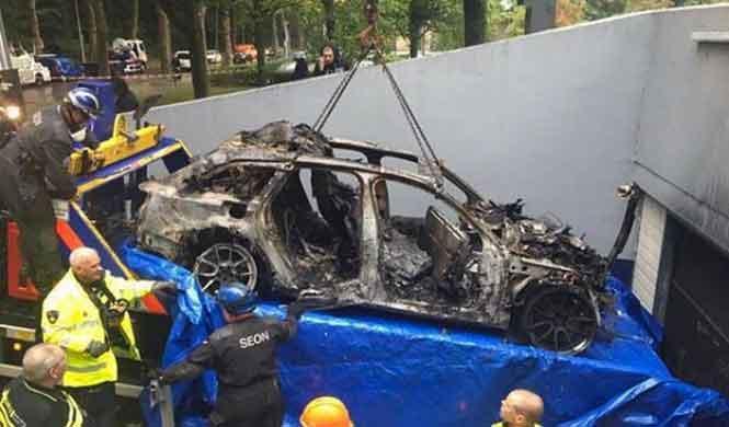 Roban el RS6 Avant DTM de Jon Olsson y lo queman