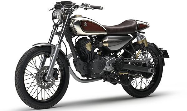 Nueva Yamaha Resonator 125, en el Salón de Tokio 2015