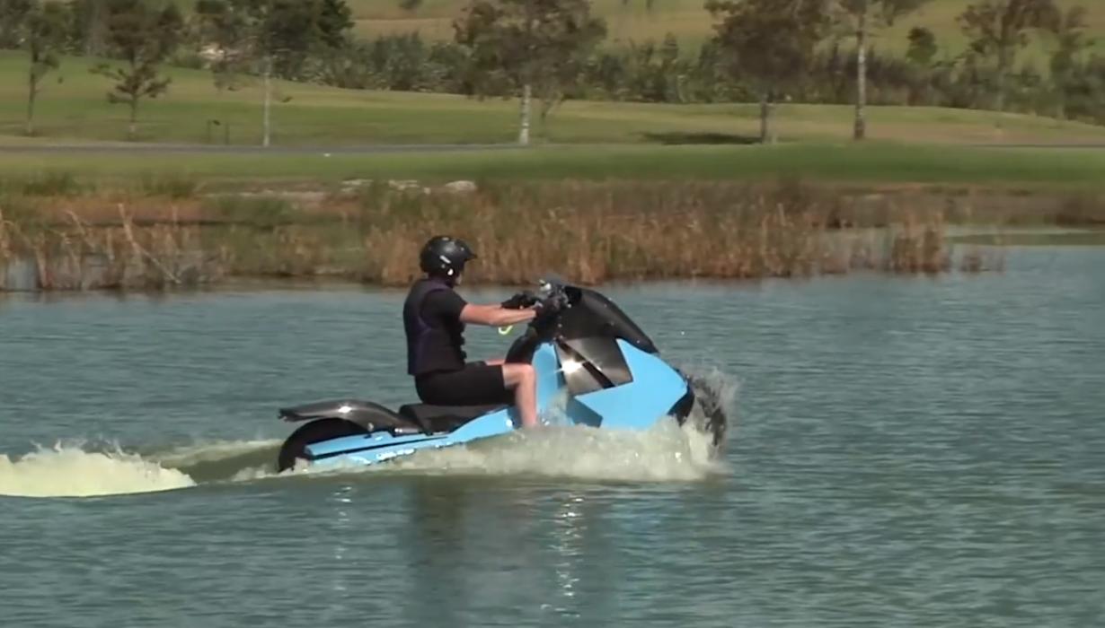 Gibbs Technologies, la moto-anfibio convertida en realidad