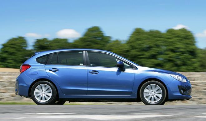 Cazan al esperado Subaru Impreza 2016