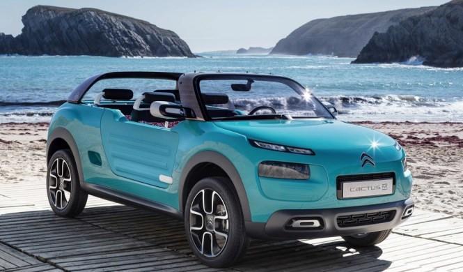 Los Citroën del futuro, inspirados en el Cactus M Concept