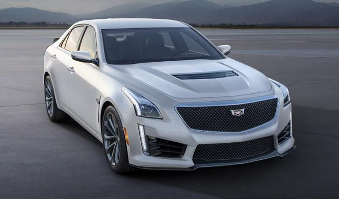 Cadillac ATS-V y CTS-V Crystal White Frost Edition 2016