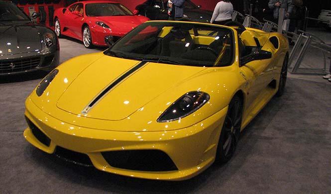 A la venta un Ferrari Scuderia 16 M Spider