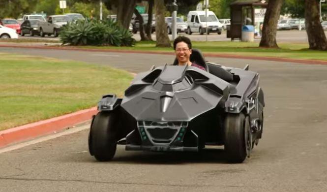 El Batmóvil que siempre has necesitado