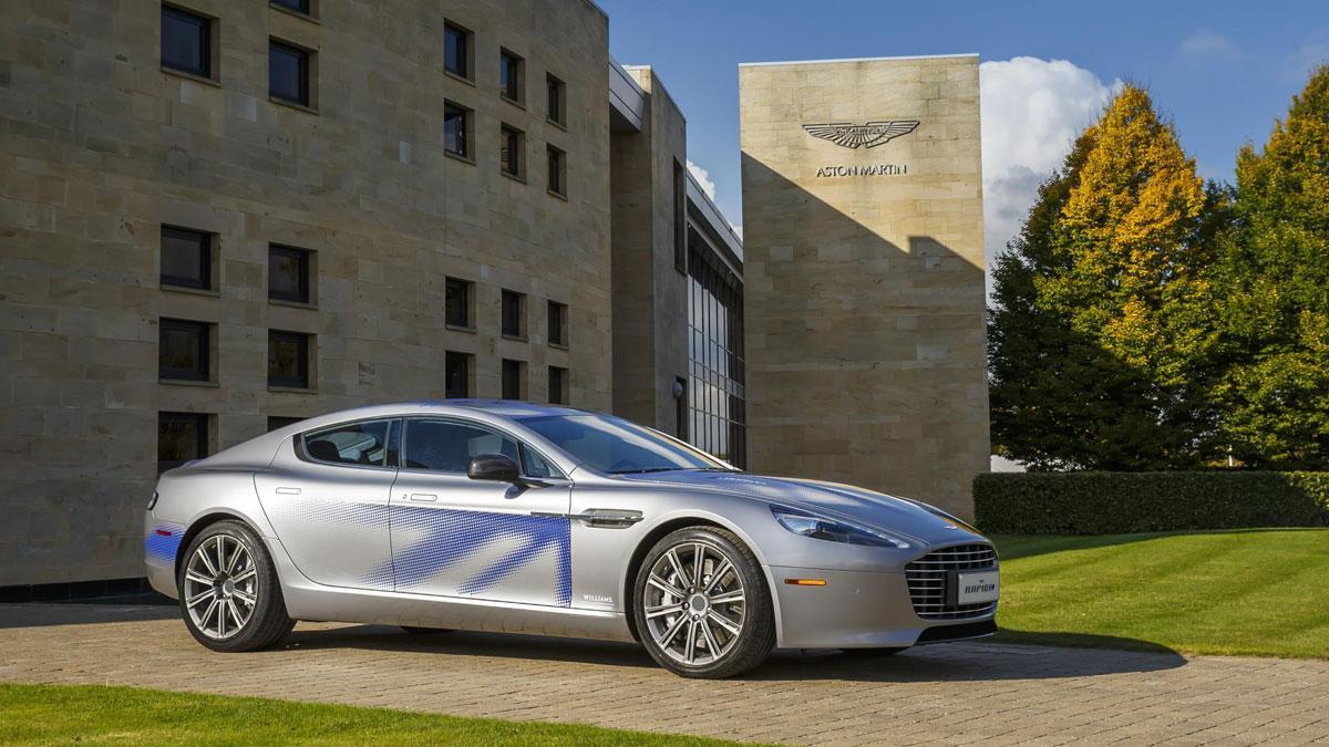 Aston Martin Rapide electrico