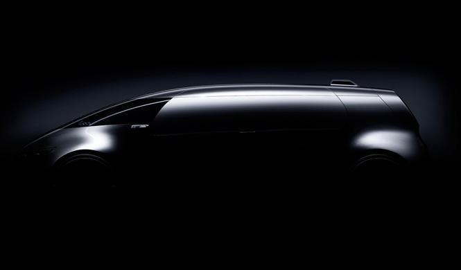 Mercedes presentará un monovolumen en Tokio