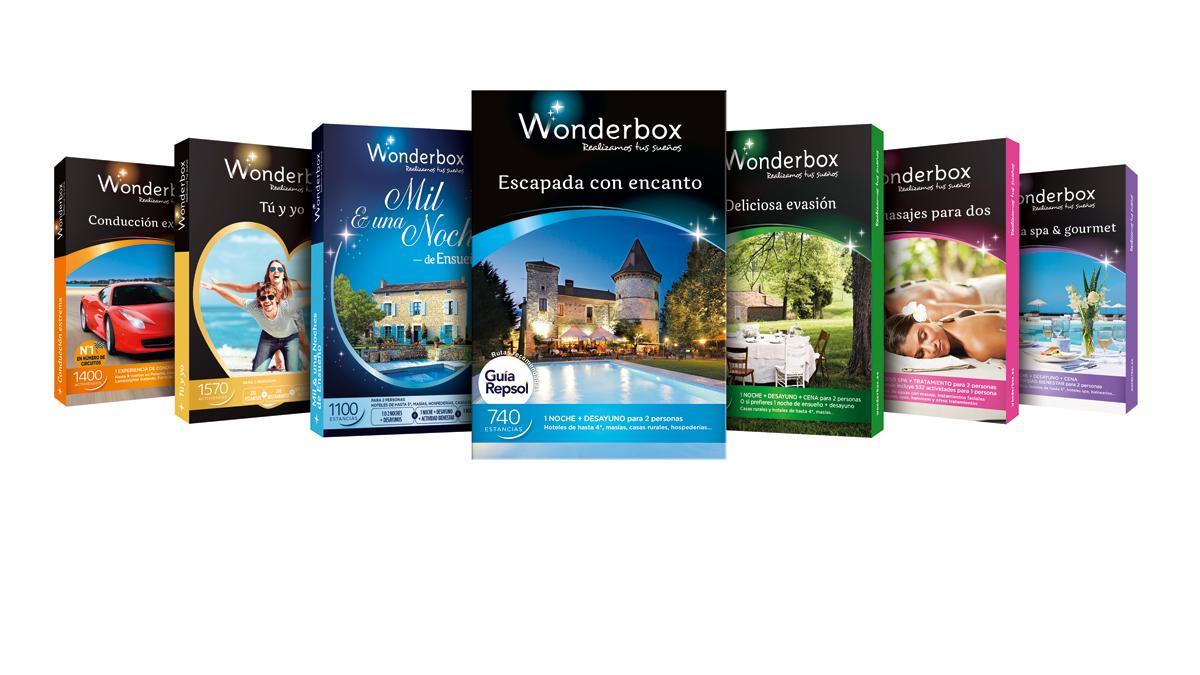 Colección de cofres Wonderbox 2015.