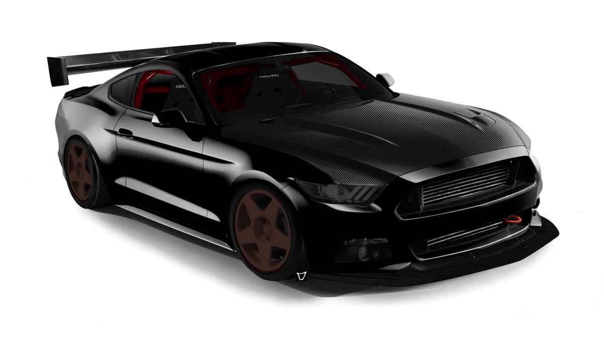 Ford-Mustang-SEMA-2015-Bisimoto