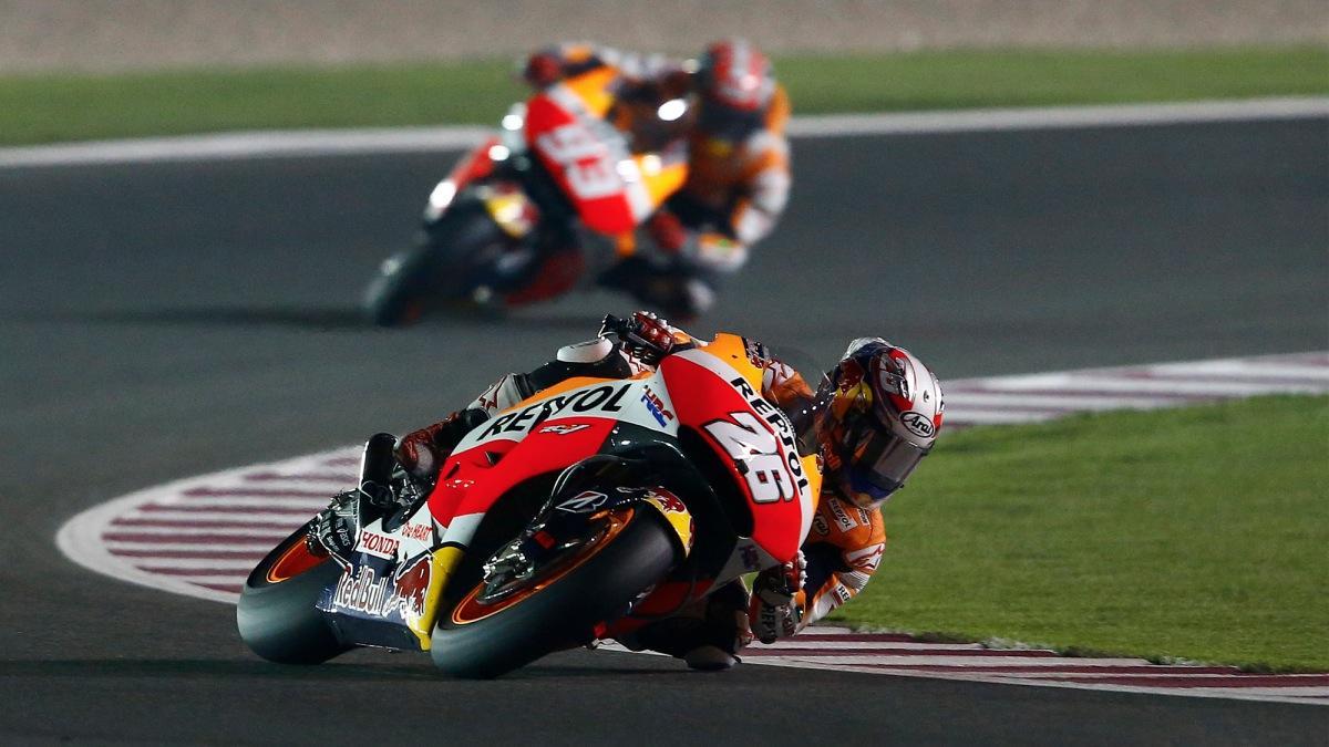 Salir último y ganar es posible en Cheste: Márquez lo hizo