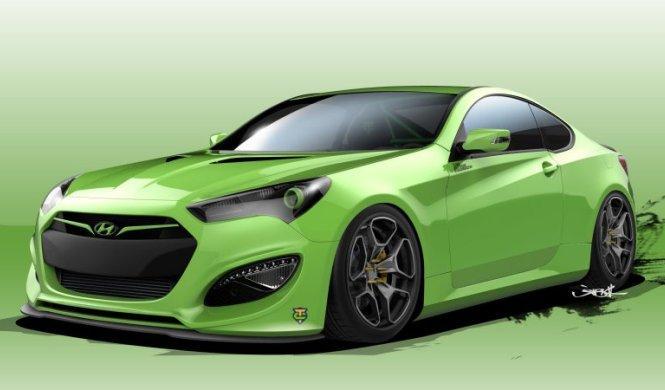 Hyundai Genesis Coupe Tjin Edition: para el SEMA 2015