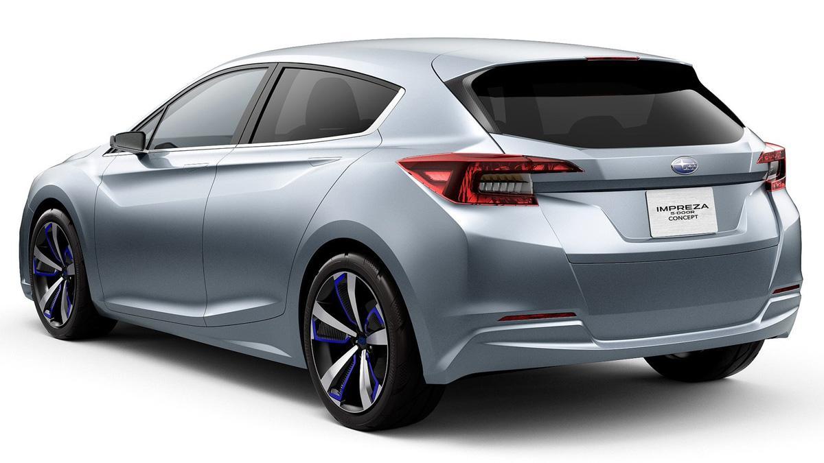 Subaru Impreza Concept trasera