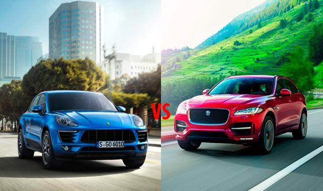 ¿Cuál es mejor, el Jaguar F-Pace 2016 o el Porsche Macan?